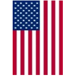 U.S. Flags Banner Style