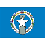 The Flag of Northern Mariana Islands