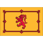 Scottish Rampant Lion Flag
