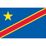 Democratic Republic Congo Flag