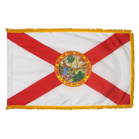 4x6 ft. Nylon Florida Flag Pole Hem and Fringe