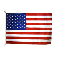 10x15 ft. Strong Polyester U.S. Flag with Roped Header