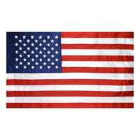 2.5x4 ft. Strong Polyester U.S. Flag Vertical Banner