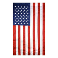 2.5x4 ft. Nylon U.S. Flag Vertical Banner