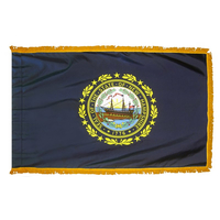 3x5 ft. Nylon New Hampshire Flag Pole Hem and Fringe
