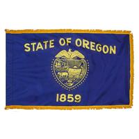4x6 ft. Nylon Oregon Flag Pole Hem and Fringe