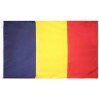 3x5 ft. Nylon Chad Flag Pole Hem Plain
