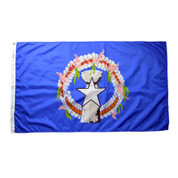 4x6 ft. Nylon U.S. Northern Marianas Flag Pole Hem and Fringe