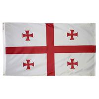 2x3 ft. Nylon Georgia Republic Flag Pole Hem Plain