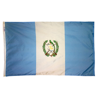 5x8 ft. Nylon Guatemala Flag with Heading and Grommets