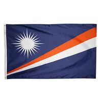 3x5 ft. Nylon Marshall Island Flag Pole Hem Plain