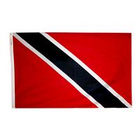 3x5 ft. Nylon Trinidad/Tobago Flag Pole Hem Plain