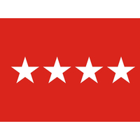 3 ft. x 4 ft. Army 4 Star General Flag Indoor Display Parade