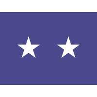 3 ft. x 4 ft. Air Force 2 Star General Flag w/Grommets