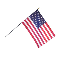 8x12 in. Heritage U.S. Flag Spearheads