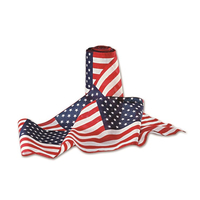 12in. x 25ft. Poly Cotton Patriotic Flag Bunting