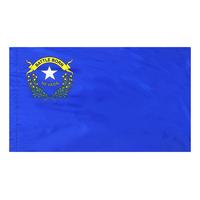 4x6 ft. Nylon Nevada Flag Pole Hem Plain