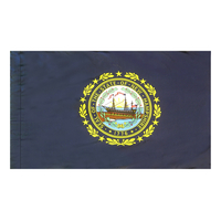 4x6 ft. Nylon New Hampshire Flag Pole Hem Plain