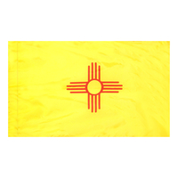 3x5 ft. Nylon New Mexico Flag Pole Hem Plain