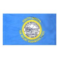 3x5 ft. Nylon South Dakota Flag Pole Hem Plain