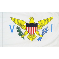 4x6 ft. Nylon U.S. Virgin Island Flag Pole Hem
