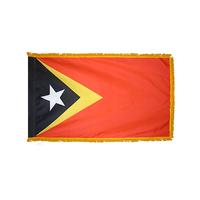 3x5 ft. Nylon Timor-East Flag Pole Hem and Fringe