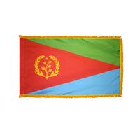 2x3 ft. Nylon Eritrea Flag Pole Hem and Fringe