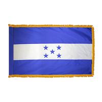 4x6 ft. Nylon Honduras Flag Pole Hem and Fringe