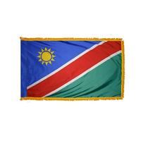 2x3 ft. Nylon Namibia Flag Pole Hem and Fringe