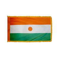 3x5 ft. Nylon Niger Flag Pole Hem and Fringe