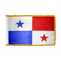 3x5 ft. Nylon Panama Flag Pole Hem and Fringe