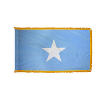 4x6 ft. Nylon Somalia Flag Pole Hem and Fringe