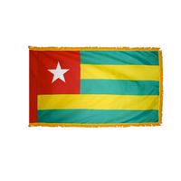 3x5 ft. Nylon Togo Flag Pole Hem and Fringe