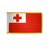 4x6 ft. Nylon Tonga Flag Pole Hem and Fringe