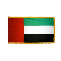 2x3 ft. Nylon United Arab Emirates Flag Pole Hem and Fringe