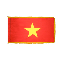 3x5 ft. Nylon Vietnam Flag Pole Hem and Fringe