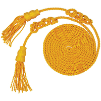 6 ft.x108in. Gold Tassel and Cord