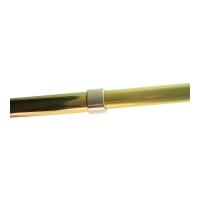 5ft. to 9-1/2ft. Adjustable Gold Aluminum Flagpole