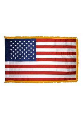 2.5x4 ft. Nylon U.S. Flag Pole Hem and Fringe