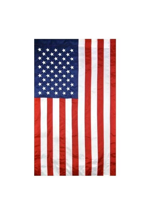 2 5x4 ft nylon u s flag vertical banner
